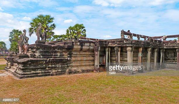 Asia ArchaeologyCambodia The ancient ruins of Angkor Wat
