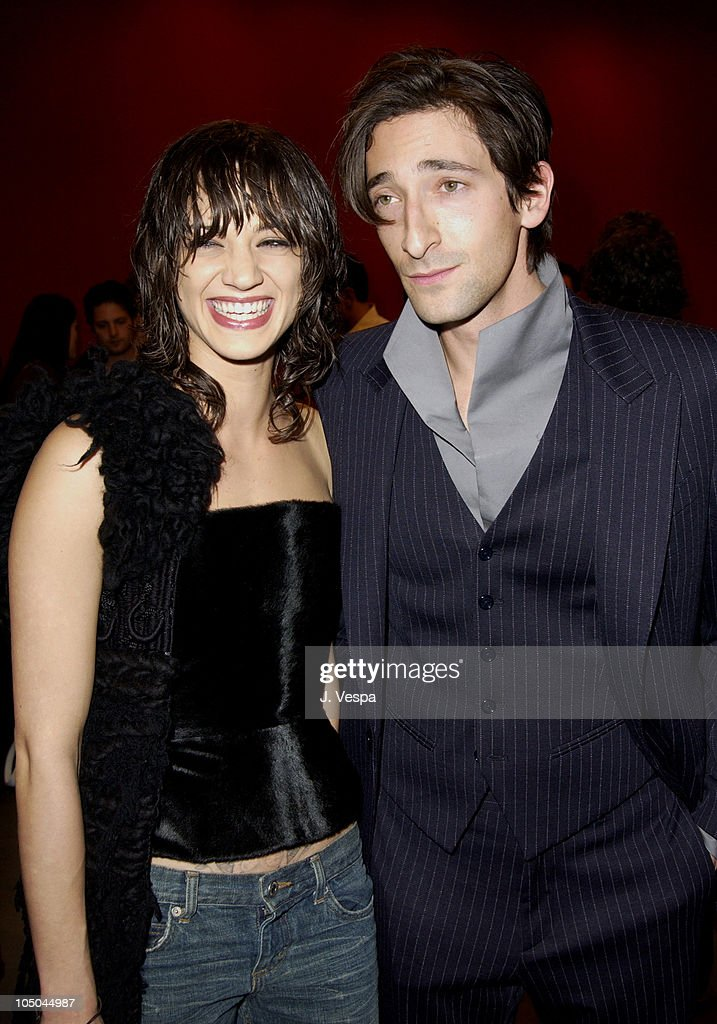 4a1c0b72abfc Asia Argento and Adrien Brody during Miu Miu Party for IFP Los ...