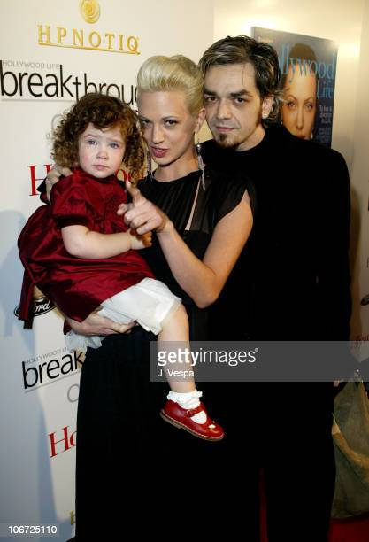 Asia Argento Anna Lou and Morgan during Movieline's Hollywood Life's 3rd Annual Breakthrough of the Year Awards Arrivals at The Highlands in...