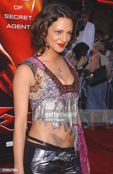 """Asia Argento arriving at the world premiere of """"xXx."""""""