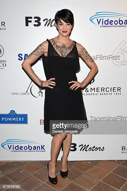 Asia Argento attends Day 1 of the 61th Taormina Film Fest on June 13 2015 in Taormina Italy