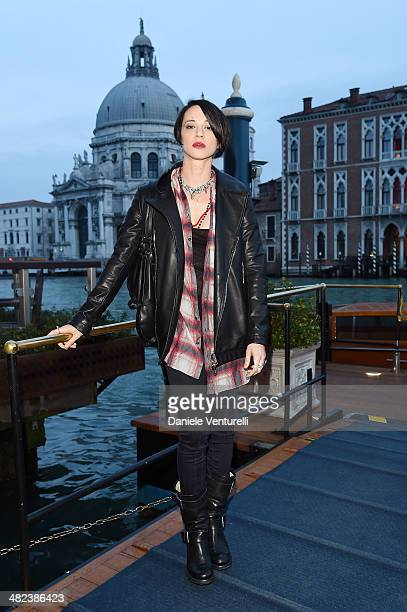 Asia Argento attends Diesel FW14 Collection Presentation Cocktail at Gritti Palace on April 3 2014 in Venice Italy