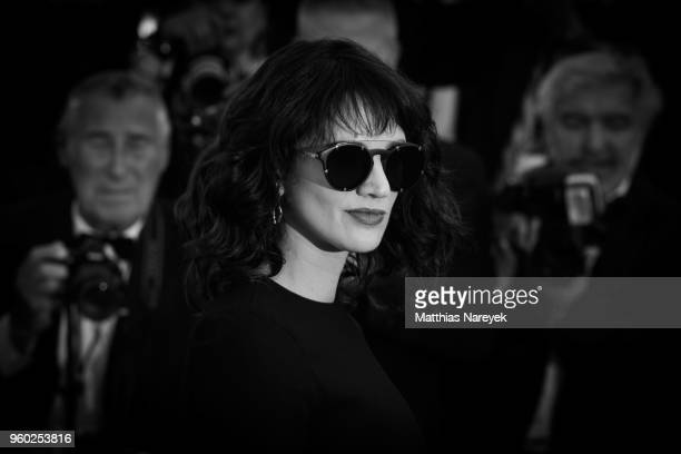 Asia Argento attends the closing ceremony during the 71st annual Cannes Film Festival at on May 18 2018 in Cannes France