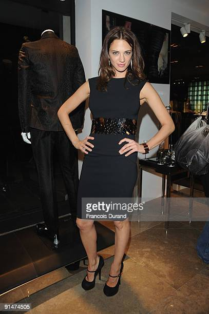 Asia Argento attends the John Richmond Cocktail Party as part of the Paris Womenswear Fashion Week on October 5 2009 in Paris France