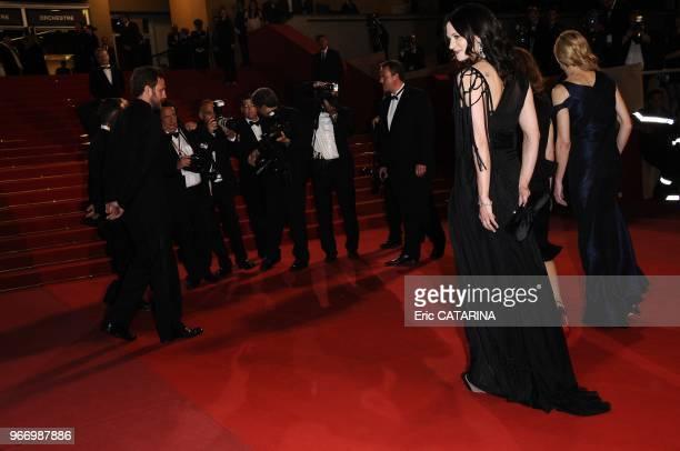 Asia Argento attends the Vincere Premiere
