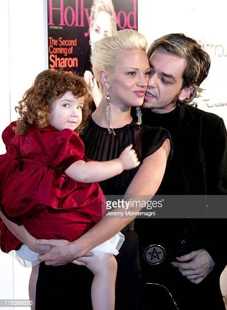 Asia Argento daughter Annalou and Marco 'Morgan' Castoldi