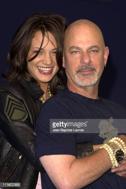 Asia Argento director Rob Cohen during Deauville 2002 'XXX' Photocall at CID Deauville in Deauville France