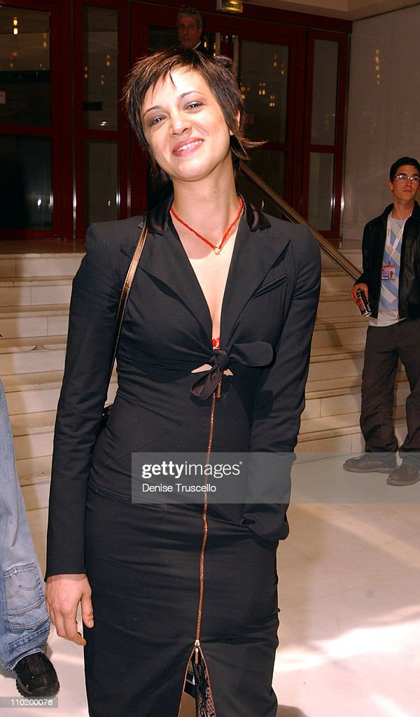 Asia Argento during 2004 Cannes Film Festival - 'The Heart Is Deceitful Among All Things' - Premiere at Noga Croisette in Cannes, France.