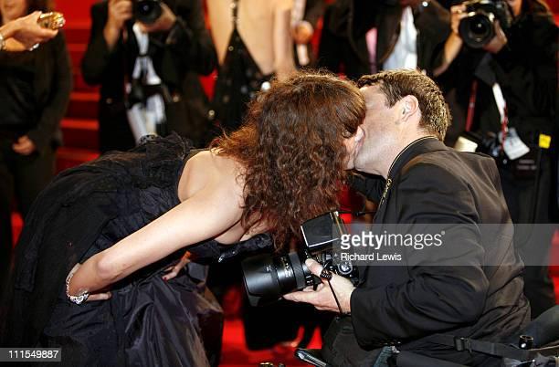 Asia Argento during 2007 Cannes Film Festival 'Go Go Tales' Premiere at Palais des Festivals in Cannes France