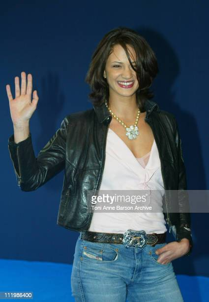 Asia Argento during Deauville 2002 'XXX' Photocall at CID Deauville in Deauville France