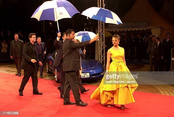 Asia Argento during Deauville 2002 'XXX' Premiere at CID Deauville in Deauville France