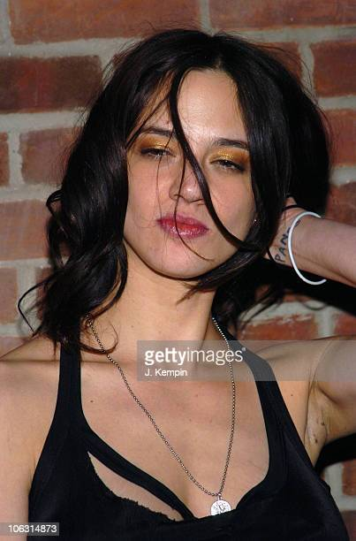 Asia Argento during 'The Heart is Deceitful Above All Things' New York City Premiere After Party at Hudson Hotel in New York City New York United...