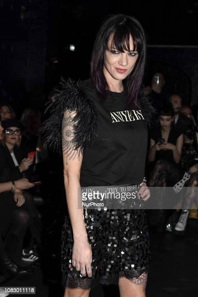 Asia Argento during the Special DJ SET with ASIA ARGENTO during the BLACKOUT PARTY organised by ANIYE BY FASHION SHOW