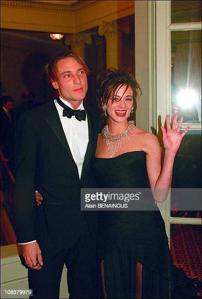 Asia Argento in Paris France on November 11 2001