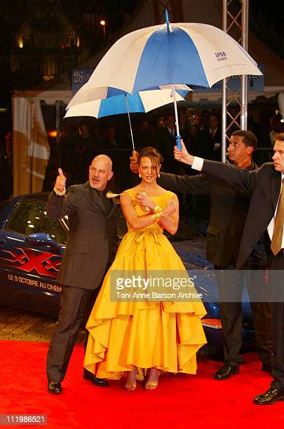 Asia Argento Rob Cohen during Deauville 2002 'XXX' Premiere at CID Deauville in Deauville France