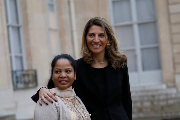 FRA: President Macron Receives Ms Asia Bibi