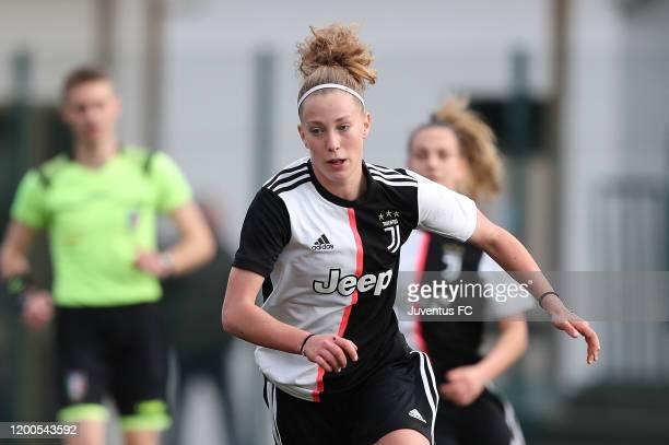 Asia Bragonzi of Juventus Women U19 in action during the Viareggio Women's Cup match between Juventus U19 and FC Internazionale U19 on February 13...