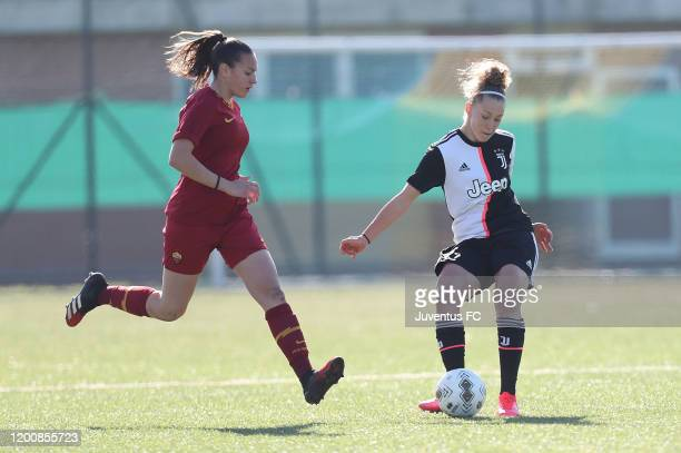 Asia Bragonzi of Juventus Women U19 in action during the Viareggio Women's Cup match between Juventus U19 and FC Internazionale U19 on February 15...