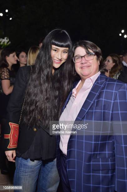 Asia Chow and Cathy Opie attend Michael Kors Dinner to celebrate Kate Hudson and The World Food Programme on November 7 2018 in Beverly Hills...