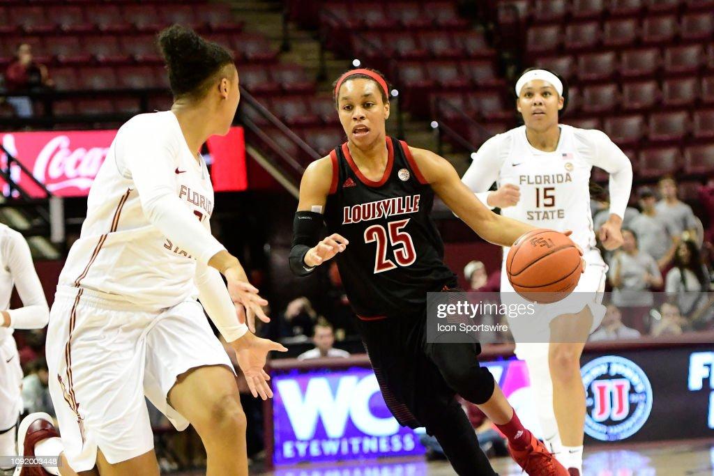 COLLEGE BASKETBALL: JAN 24 Women's Louisville at Florida State : News Photo