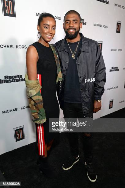 Asia Irving and Kyrie Irving at Sports Illustrated 2017 Fashionable 50 Celebration at Avenue on July 18 2017 in Los Angeles California