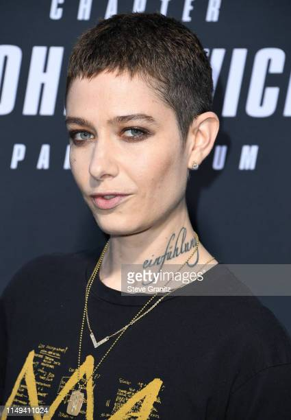 Asia Kate Dillon arrives at the Special Screening Of Lionsgate's John Wick Chapter 3 Parabellum at TCL Chinese Theatre on May 15 2019 in Hollywood...