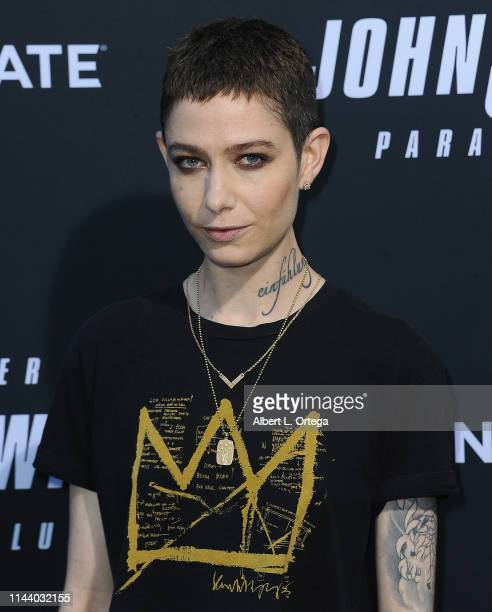 Asia Kate Dillon arrives for the Special Screening Of Lionsgate's John Wick Chapter 3 Parabellum held at TCL Chinese Theatre on May 15 2019 in...