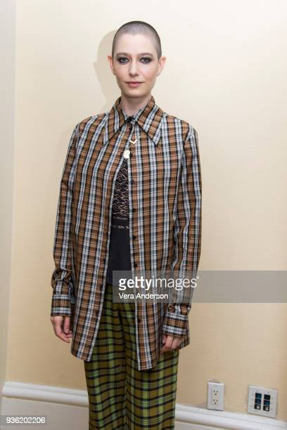 Asia Kate Dillon at the Billions Press Conference at the Peninsula Hotel on March 20 2018 in New York City