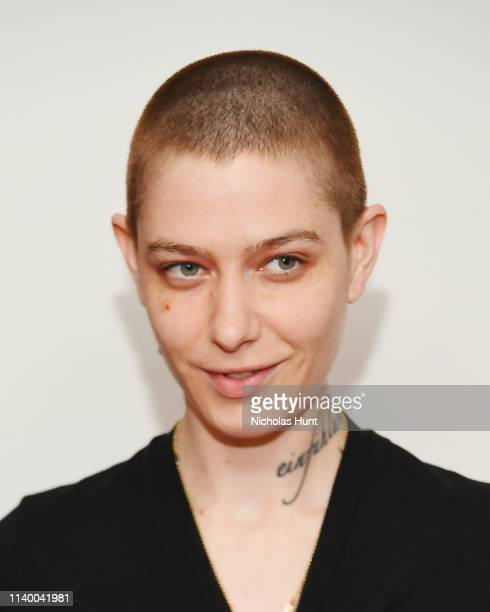 Asia Kate Dillon attends In Their Own Words the 13th Annual Play Reading for Opening Act at New World Stages on April 02 2019 in New York City