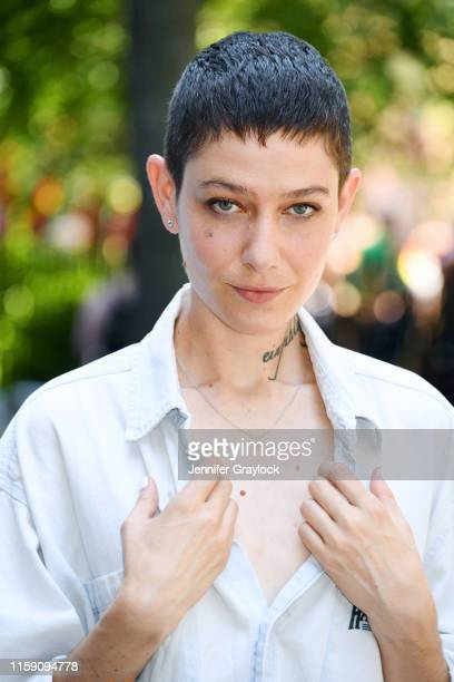 Asia Kate Dillon attends Lightbox X Coolhaus Pride Event at Stonewall Inn on June 29 2019 in New York City