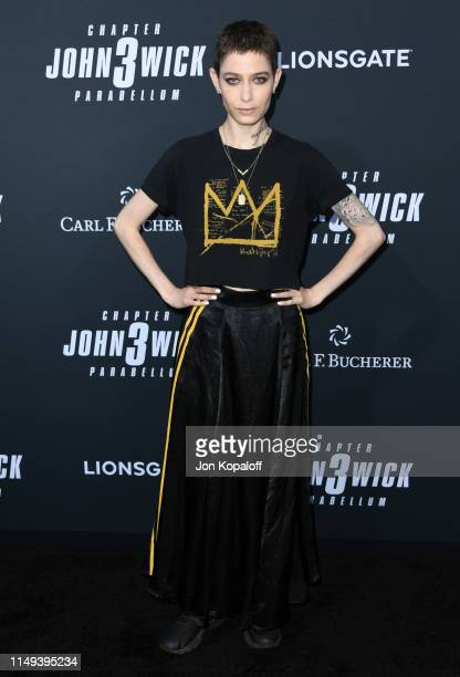 Asia Kate Dillon attends the Special Screening Of Lionsgate's John Wick Chapter 3 Parabellum at TCL Chinese Theatre on May 15 2019 in Hollywood...