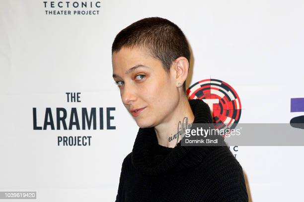 Asia Kate Dillon during the Laramie A Legacy A Reading Of The Laramie Project at Gerald W Lynch Theater on September 24 2018 in New York City