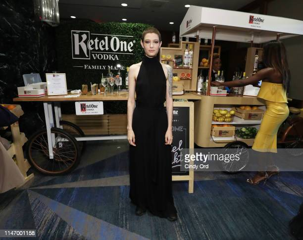 Asia Kate Dillon enjoys a Ketel One cocktail at 30th Annual GLAAD Media Awards in partnership with Ketel One FamilyMade Vodka longstanding ally of...