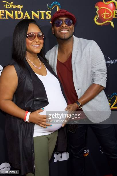 Asia Lee and Kel Mitchell attend the Premiere Of Disney Channel's Descendants 2' at The Cinerama Dome on July 11 2017 in Los Angeles California