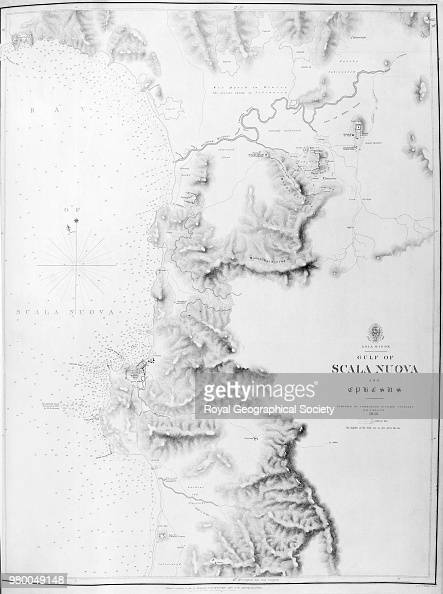 Asia Minor - Gulf of Scala Nuova and Ephesus, From: 'Atlas of