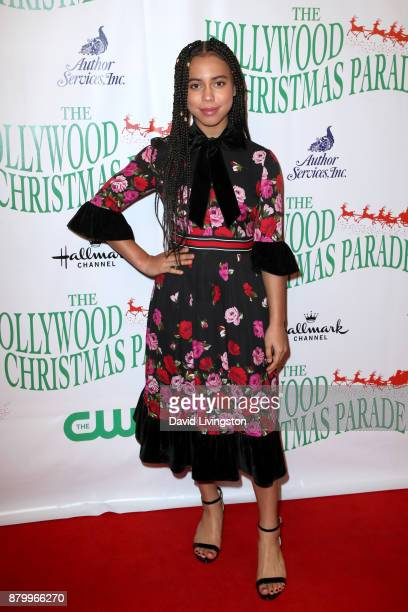 Asia Monet at 86th Annual Hollywood Christmas Parade on November 26 2017 in Hollywood California