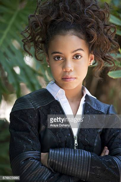 Asia Monet Ray poses for a portrait on July 15 2016 in Los Angeles California