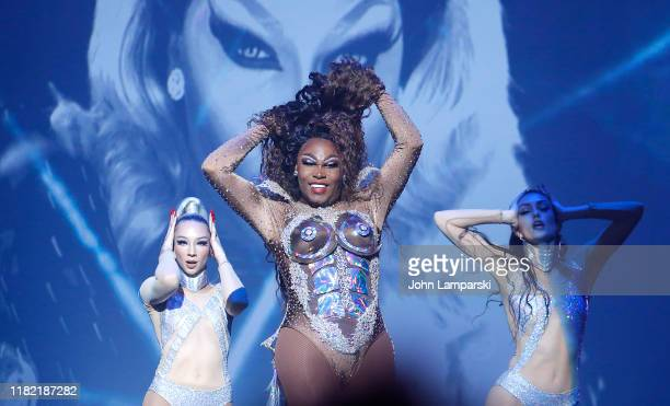 Asia O'Hara performs during RuPaul's Drag Race Werq The World 2019 at Hammerstein Ballroom on October 19 2019 in New York City