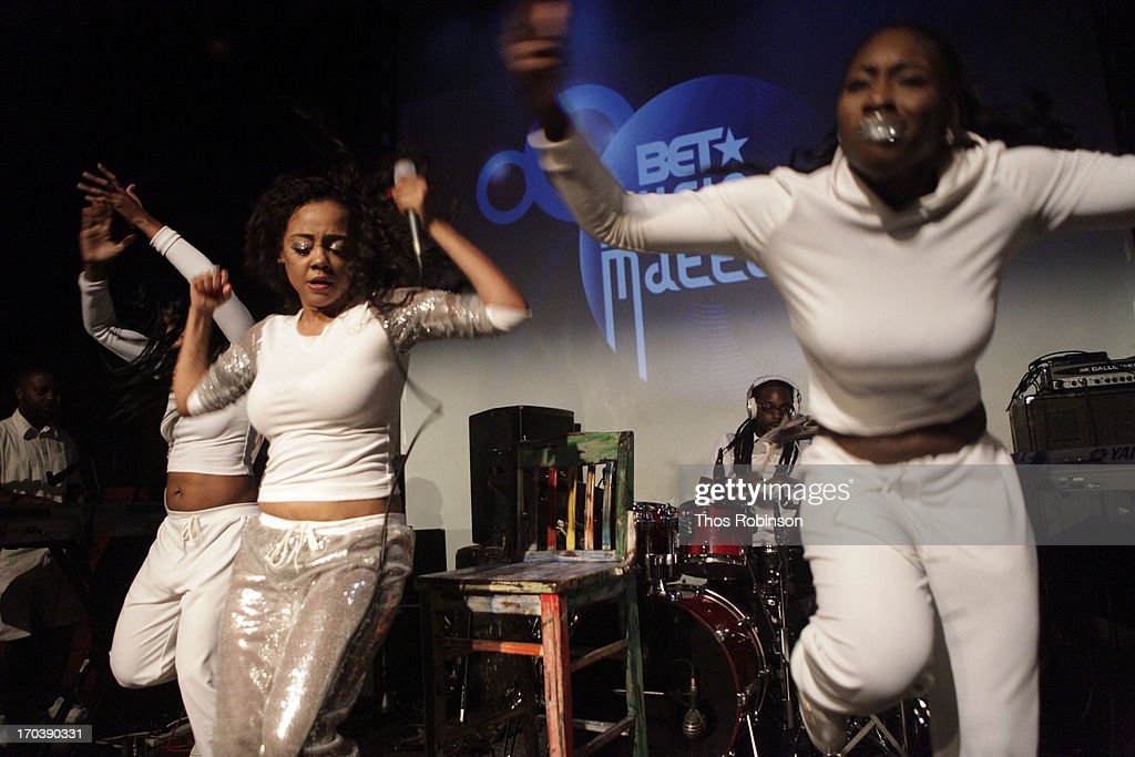 Asia Sparks performs at BET's Music Matters Showcase at SOB's on June 11, 2013 in New York City.