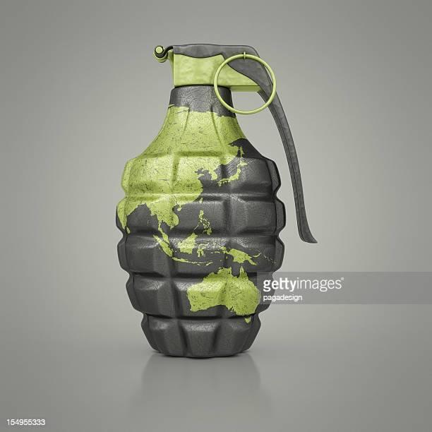 asia/australia hand grenade