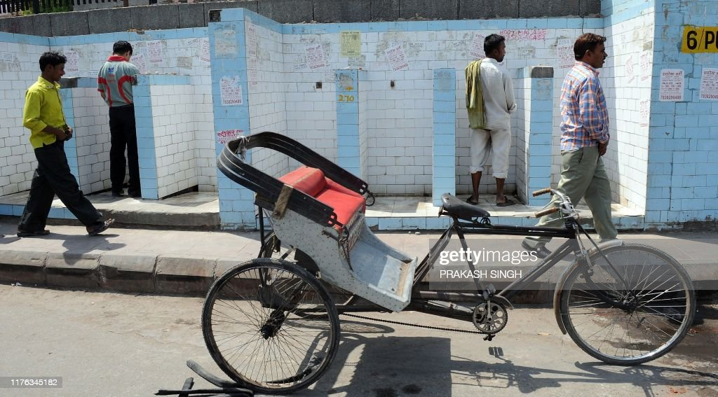INDIA-HEALTH-ENVIRNMENT-TOURISM-TOILETS : Nachrichtenfoto