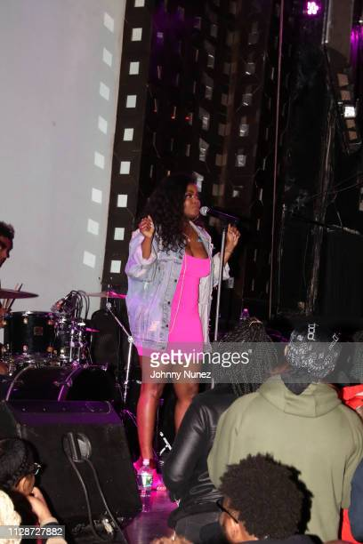 Asiahn performs at SOB's on March 4 2019 in New York City