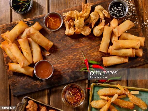 アジア風の前菜