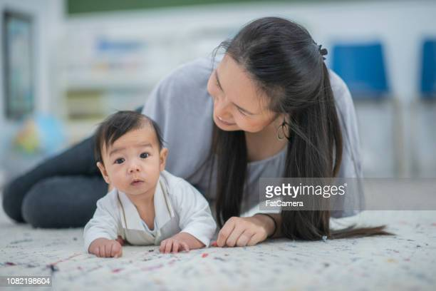 asian baby boy with mom - fatcamera stock pictures, royalty-free photos & images
