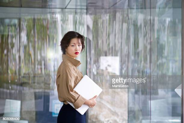 Asian beautiful business lady