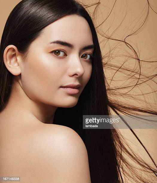 beleza asiática - etnia chinesa - fotografias e filmes do acervo