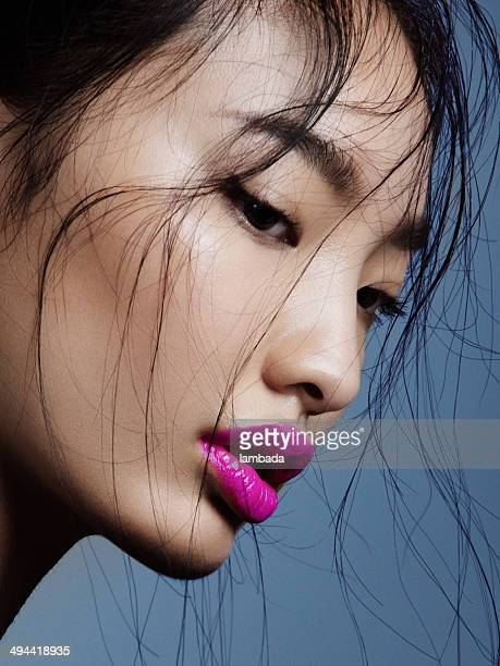 asian beauty - east asian culture stock photos and pictures