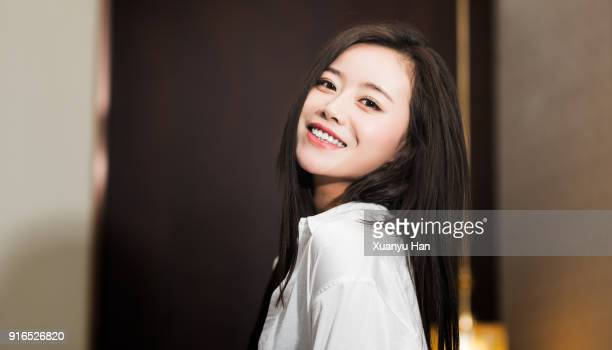 asian beauty portrait of young woman - asian model stock photos and pictures