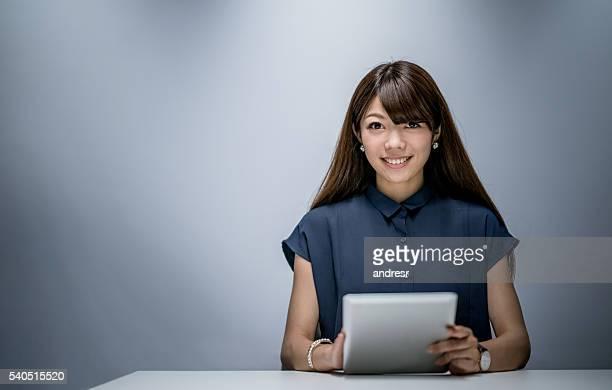 Asiatische business Frau