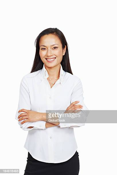 Asian business woman with confidence